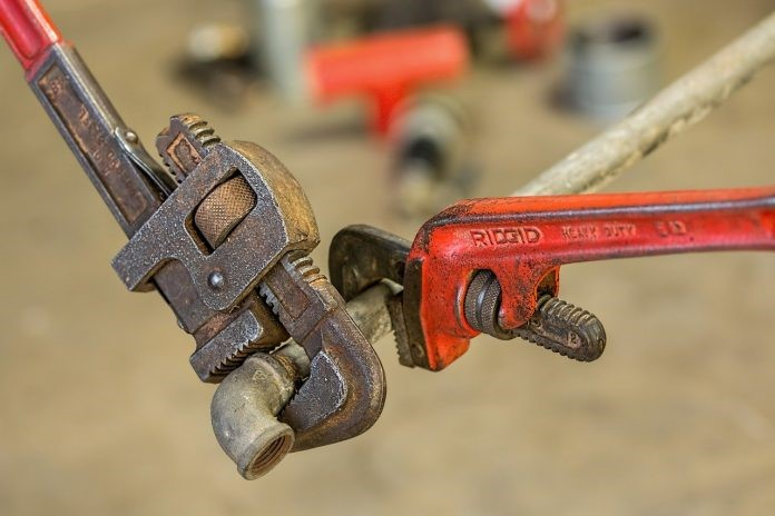 pipe and pipe wrenches plumbing